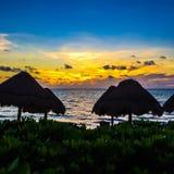 Cancun-Ansicht lizenzfreie stockbilder