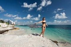 Cancun au Mexique Photos libres de droits