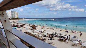 Cancun beach royalty free stock photography