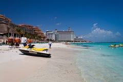 Cancun Beach Mexico Stock Photos