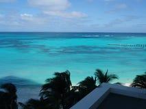 Cancun Beach. Summer day in Cancun beach Royalty Free Stock Image