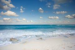 cancun havsikt Arkivfoto
