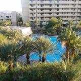 Cancun hotell fotografering för bildbyråer