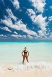 Cancun i Mexico Fotografering för Bildbyråer