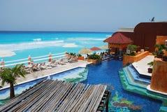 cancun kurort Zdjęcie Royalty Free