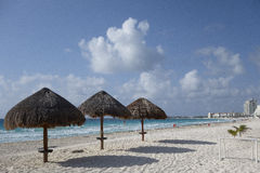 Cancun (La Isla Dorado), Mexico Royalty Free Stock Photo