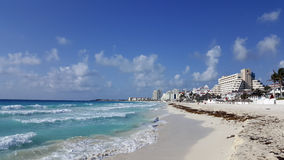 Cancun (La Isla Dorado), Mexico Royalty Free Stock Photo