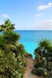 Cancun-Landschaft Lizenzfreies Stockfoto