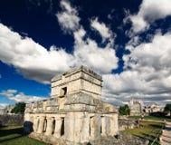 cancun majowie blisko ruin tulum światu Obrazy Royalty Free