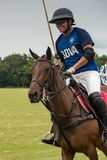 CANCUN MEKSYK, LIPIEC, - 8, 2018: Argentinean polo gracz na purebr obrazy stock