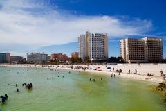 Cancun Meksyk z algą Zdjęcie Royalty Free