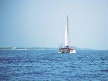 Cancun, mer des Caraïbes du Mexique Images libres de droits