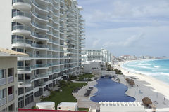 cancun mexico Royaltyfri Bild