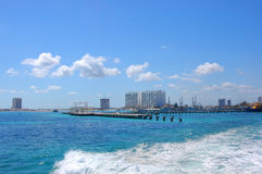 cancun mexico Arkivbild