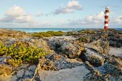 Cancun, Mexico. Beautiful seashore in Cancun, Mexico stock photos