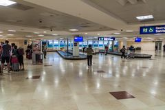 Free CANCUN, MEXICO - FEB 24, 2016: Baggage Claim Area At Cancun International Airport, Mexi Royalty Free Stock Photography - 130222087