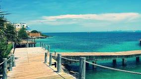 Cancun Mexico semester arkivfoton