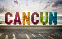 Cancun, Mexique Photographie stock libre de droits