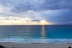 Cancun morgens Stockfoto