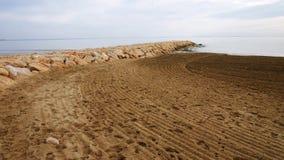 Cancun plażowy Meksyku czyste karaibów morza Fotografia Royalty Free