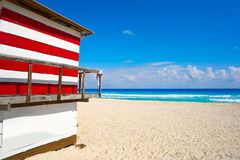 Cancun Playa Delfines beach Riviera Maya Stock Photography