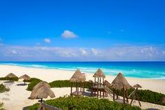 Cancun Playa Delfines beach Riviera Maya Royalty Free Stock Images