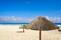 Cancun Playa Delfines beach Riviera Maya Royalty Free Stock Photo