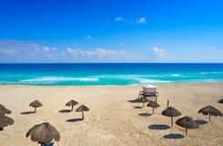 Cancun Playa Delfines beach Riviera Maya Royalty Free Stock Image