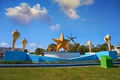 Free Cancun Plaza Ceviche Square In Mexico Stock Photo - 102603440