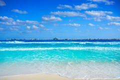 Cancun Puerto Juarez in Caribbean Mexico. Cancun Puerto Juarez in Caribbean sea of Mexico Stock Image