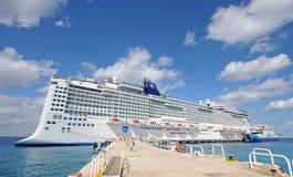 Cancun que visita épico del noruego, México Foto de archivo