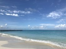 Cancun-Strand Lizenzfreie Stockfotos