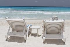 Cancun-Strand Stockfoto