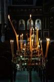 candélabres Photographie stock