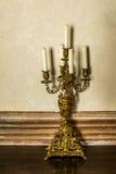 Candélabres d'un vintage en Italie Image libre de droits