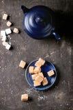Cand и чайник Fudge Стоковые Фотографии RF