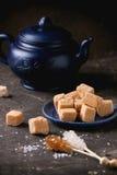 Cand и чайник Fudge Стоковое Изображение RF