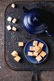 Cand и чайник Fudge Стоковая Фотография RF