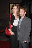 Candace Bailey, Seth Green Stock Images