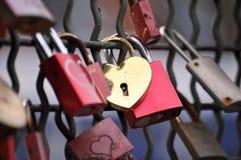 Candados para el amor eterno foto de archivo libre de regalías