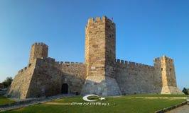Candarli castle Stock Image