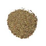 Candazaro salt. Isolated on white background Stock Photo