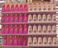 Candeggiante per la lavanderia Fotografia Stock Libera da Diritti