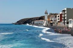 Candelária, plage, Ténérife Photographie stock libre de droits