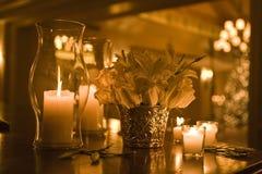 candel światło Zdjęcia Royalty Free