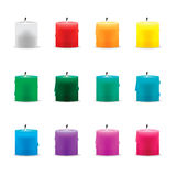 Candel color  Stock Image