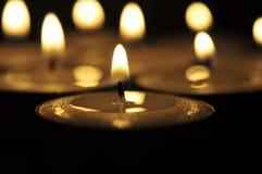 Candel-licht Royalty-vrije Stock Afbeelding
