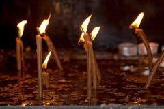 candela Fotografia Stock