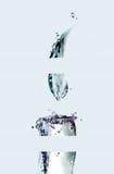 Candela affettata dell'acqua Fotografie Stock Libere da Diritti