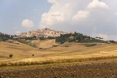 Candela (Apulia, Italia) - paesaggio Immagine Stock